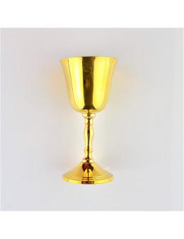 Petit calice en bronze pour autel