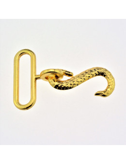 Fermoir serpent pour tablier