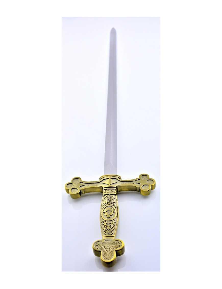 Epée maçonnique lame droite