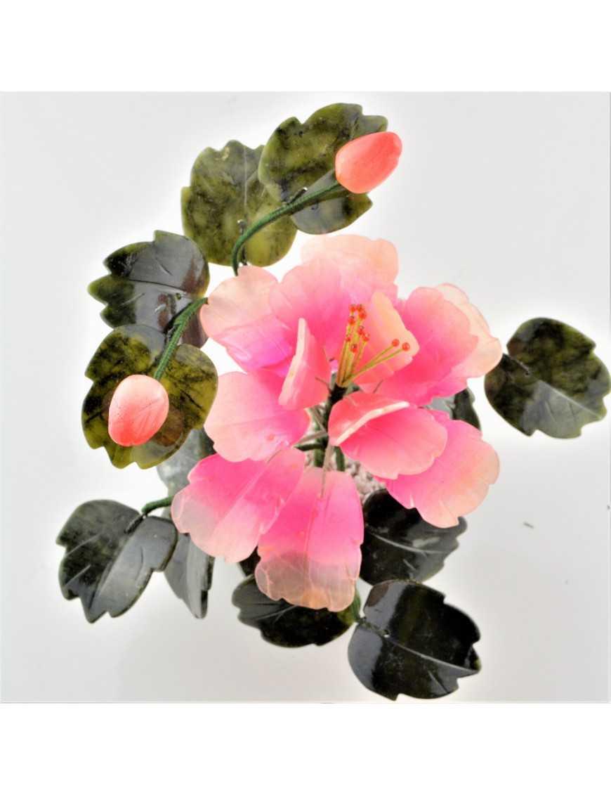 Fleur en pierres petit modèle