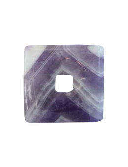 Pi chinois carré 3 cm + cordon