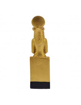 Statue Sekhmet assise dorée