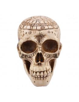 Crâne grand modèle gravé
