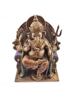 Statue Ganesha en bronze