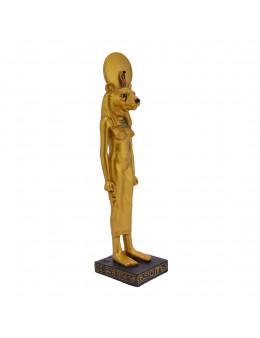 Statue Sekhmet debout doré