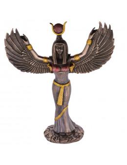 Statue Isis en bronze