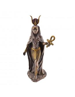 Statue Hathor en bronze
