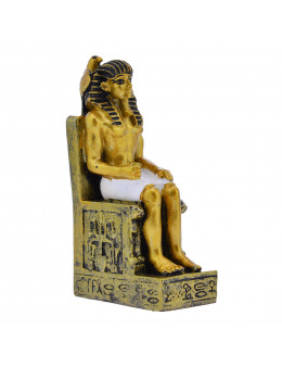Statue Pharaon assis