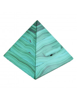 Pyramide en malachite 4,4 cm