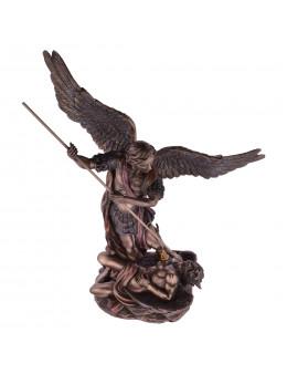 Grande statue Archange St Michel avec lance