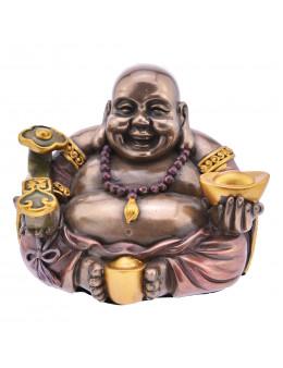 Statue Buddha en bronze