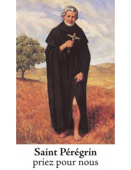 Bougie de neuvaine St Péregrin + prière