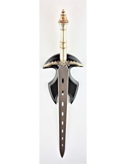 Petite épée pour rituels avec support mural