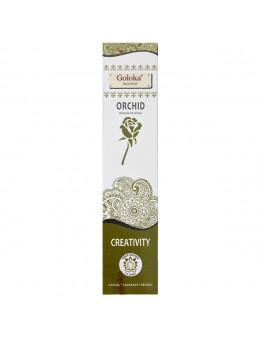 Encens Goloka - Yoga Series - Orchidée/Orchid Créativité - 15g
