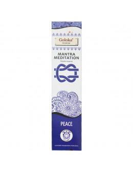 Encens Goloka -Yoga Series - Mantra Méditation Paix - 15g