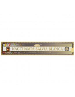 Encens Baguette Ppure - Nag Champa Sauge Blanche - 15g