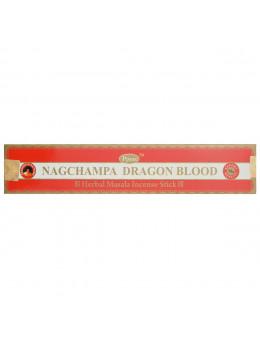 Encens Baguette Ppure - Nag Champa Sang du Dragon - 15g