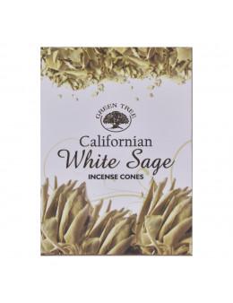 Encens Green Tree White Sage Cones 15 g