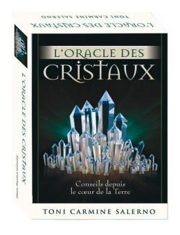 L'ORACLE DES CRISTAUX, Conseils depuis le coeur de la Terre - Toni CARMINE SALERNO - Coffret 10 X 14 CM