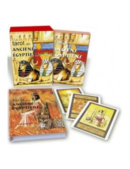 LE TAROT DES ANCIENS EGYPTIENS - Clive BARRETT - Coffret de 78 cartes + livre