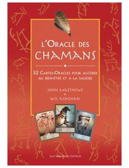 L'oracle des chamans - John MATTHEWS et Wil KINGHAN - Coffret de 52 cartes- oracles  + un livre 82 pages