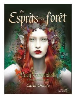 Les esprits de la forêt - Lucy CAVENDISH - coffret de carte Oracle 13 x 17 cm