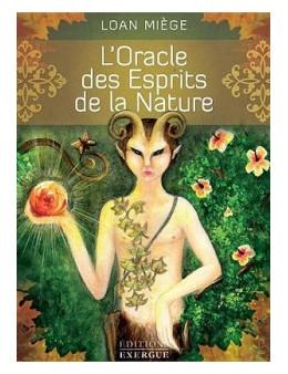 L'Oracle des Esprits de la Nature - Loan MIEGE - Coffret livre et carte 13 x 17