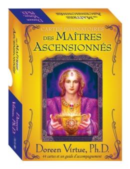 Cartes divinatoires des maîtres ascensionnés - Doreen VIRTUE - coffret