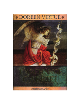 L'archange Gabriel de Doreen VERTUE - coffret de 44 cartes 10 x 14 -oracle et un livre explicatif