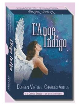 L'Ange Indigo - Doreen et Charles VIRTUE - coffret de 44 cartes et 1 livret explicatif