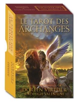 Le Tarot des Archanges - Doreen VIRTUE et  Valentine RADLEICH - coffret  78 cartes et  livre explicatif