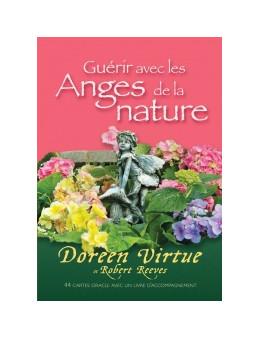 Messages de guérison des fleurs - Doreen VIRTUE - coffret de 44 cartes 10 x 14 -oracle et un livre explicatif