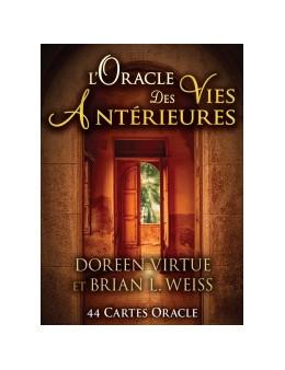 L'Oracle des Vies Antérieures - Doreen VIRTUE - coffret de 44 cartes 10 x 14 -oracle et un livre explicatif