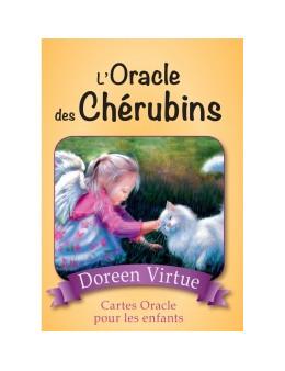 L'Oracle des Chérubins - Cartes Oracle pour les enfants - Doreen  VIRTUE -  coffret de 44 cartes 10 x 14 -oracle et un livre exp