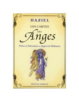 Les cartes des Anges - HAZIEL -Prières et Exhortations -  Coffret 72 cartes + un livre