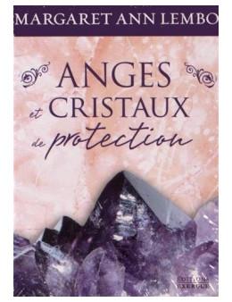 Anges et cristaux de protection- Margaret Ann Lembo - coffret d cartes e