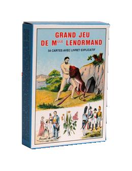 Grand Jeu de Mlle Lenormand - Jeu 54cartes + livret