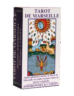 Tarot de Marseille Jeu de 78 lames - Camoin et Jodorowsky + livret multilangue