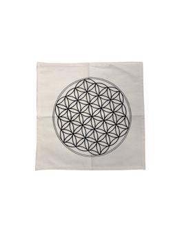 Tapis de Géométrie Sacrée - Fleur de Vie