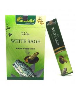 Encens Aromatika védic Sauge Blanche 15g
