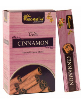 Encens Aromatika védic Cannelle 15g