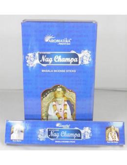 Encens Aromatika védic Nag Champa 15g