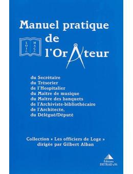 Manuel pratique de l'Orateur - Gilbert Alban - Ed Detrad aVs