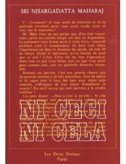 Ni Ceci Ni Cela - Sri Nisargadatta - Ed. Les Deux Oceans
