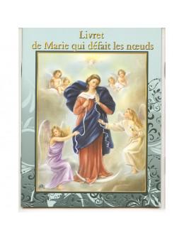 Livret Prière - Neuvaine - Marie qui défait les noeuds