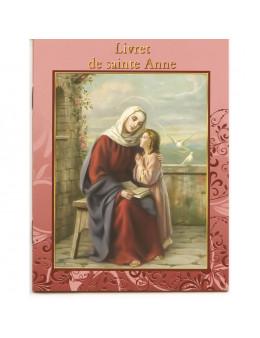 Livret Prière - Neuvaine - Sainte Anne