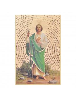 Image sainte sur bois - St Jude - 15x10