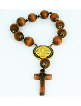 Dizainier Saint Benoit grosses perles de bois