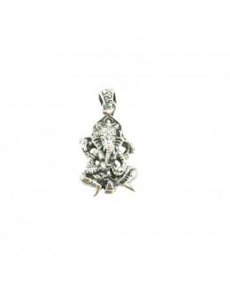 Pendentif Ganesha argent 925