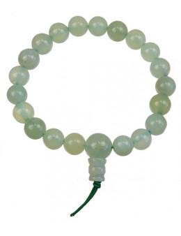 Bracelet mala tibétain Serpentine